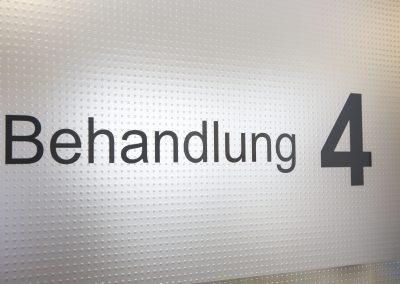 Behandlungszimmer 4 in der Praxis in Friedrichshafen