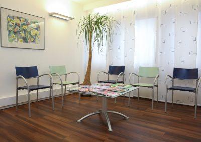 Wartezimmer der Zahnarztpraxis Dr. Matz in Friedrichshafen